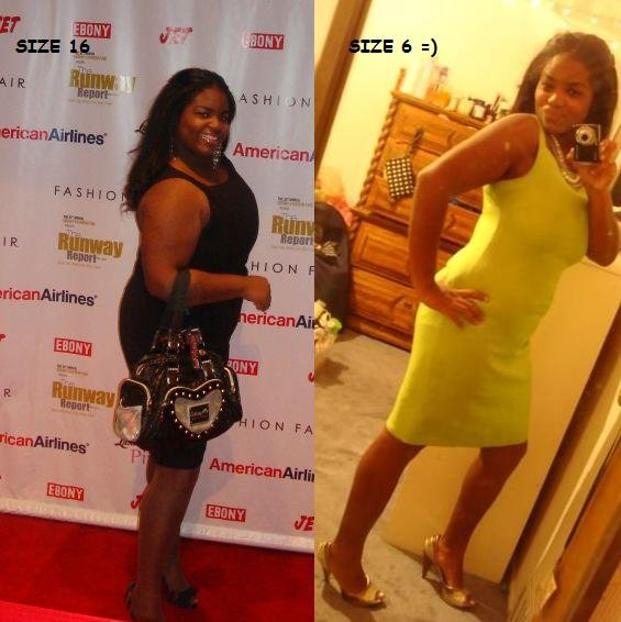 before and after weight loss High Life Workout Plan