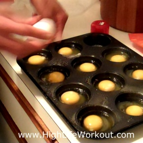Muscle Building Breakfast Meal – Fast Easy Way To Cook Eggs