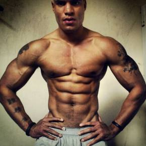 """NEW 15 min """"PSYCHO ABS WORKOUT"""" How to get a six 6 pack and burn belly fat FAST (Big BrandonCarter)"""