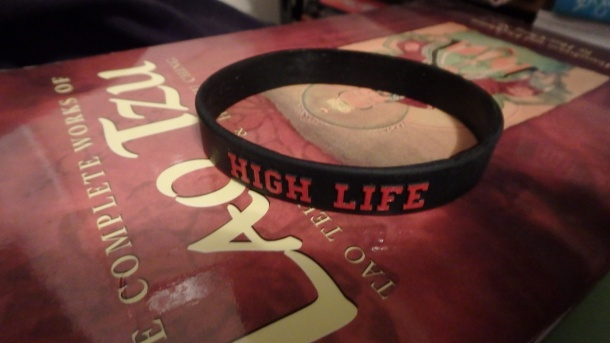High Life Workout Wrist Band